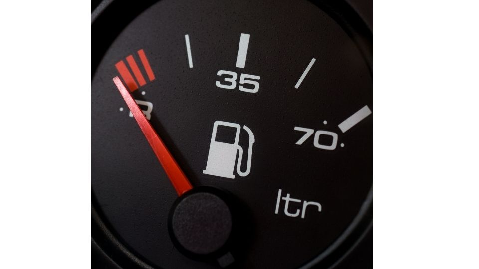how many miles can a car go on empty