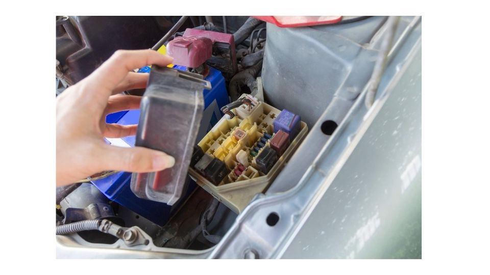 disabling a vehicle using a fusebox